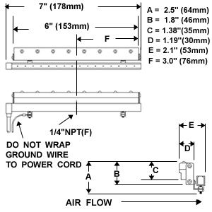Static Removal,Ionizing Curtain,Air Knife,ITW Vortec