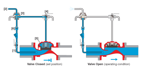 Locally Operated, Monitor Valve, Bermad, FP 405-11