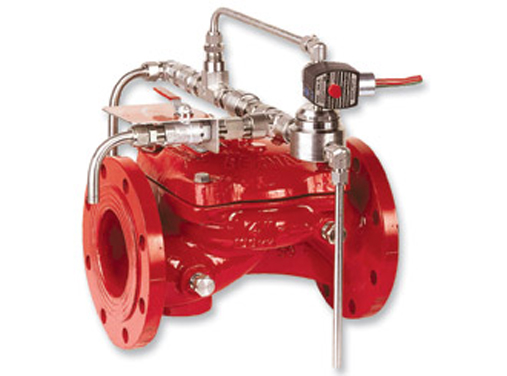 Electrically Controlled, On-Off, Deluge Valve, Bermad FP 400E-3D